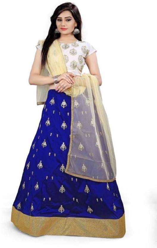 ca0a3a5560 Mert India Embroidered, Printed Lehenga Choli - Buy Mert India ...