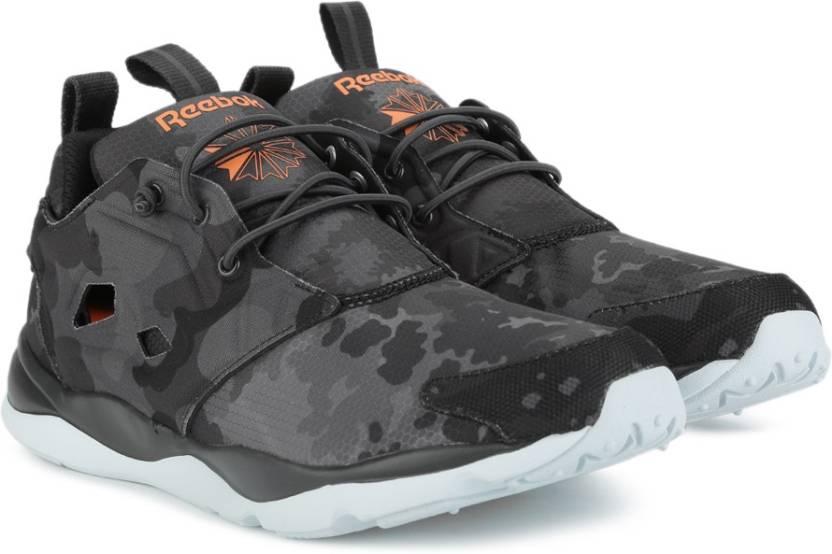 bfbe855031548d REEBOK FURYLITE CC Sneakers For Men - Buy COAL WILD ORANGE BLUE ...
