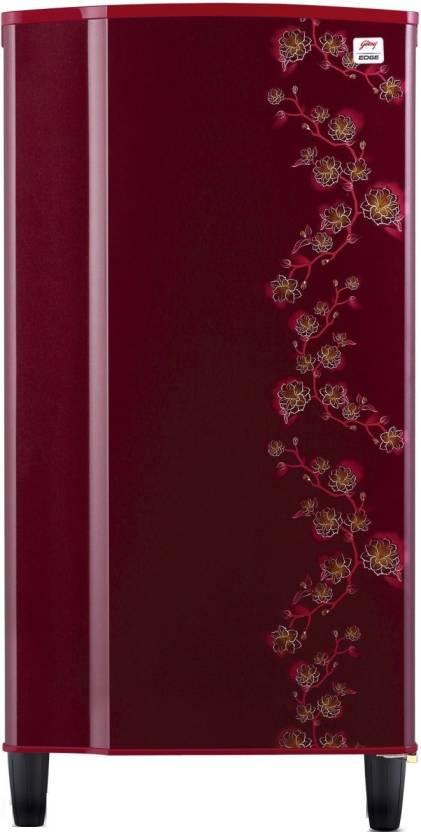 Godrej 185 L Direct Cool Single Door Refrigerator  (RD EDGE 185 CW 2.2, Wine Eternity, 2017)-12% OFF