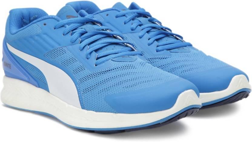 Puma IGNITE v2 Running Shoes For Men - Buy Electric Blue Lemonade ... 806d84bae