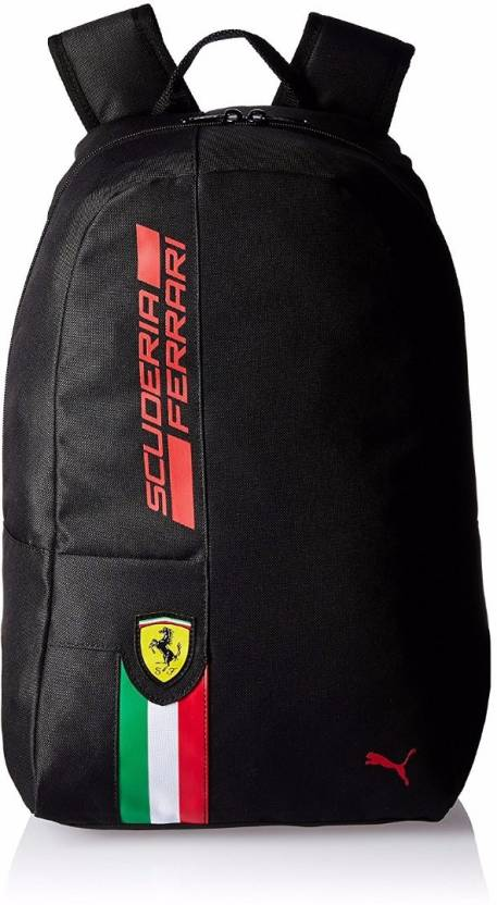 5eefcd6713ca Puma Ferrari Fanwear 19 L Backpack Black - Price in India