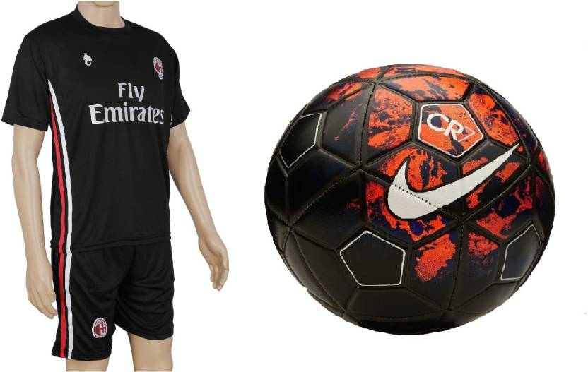 pretty nice 2ba90 2f6af Retail World CR7 Ball with Suit (Jersey + Shorts) Football Kit