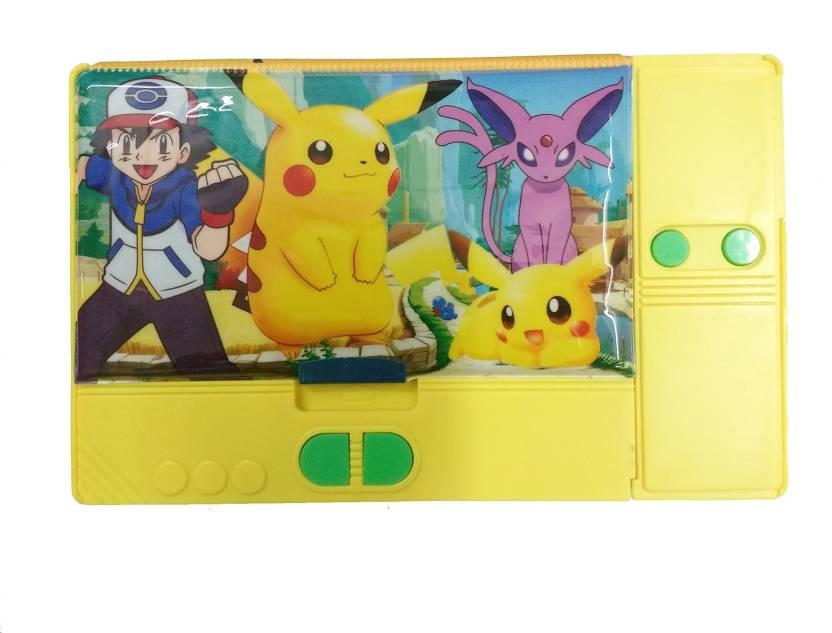 Flipkart.com | NeoTask Jumbo Pokemon Kids Cool Art Plastic Pencil ...