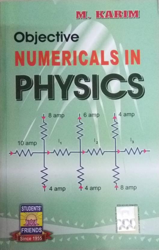 M  Karim Objective Numericals In Physics: Buy M  Karim