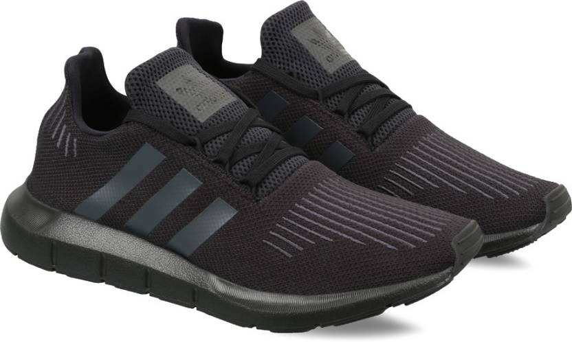 new arrivals f829f 7cdd0 ADIDAS ORIGINALS SWIFT RUN Sneakers For Men (Black)