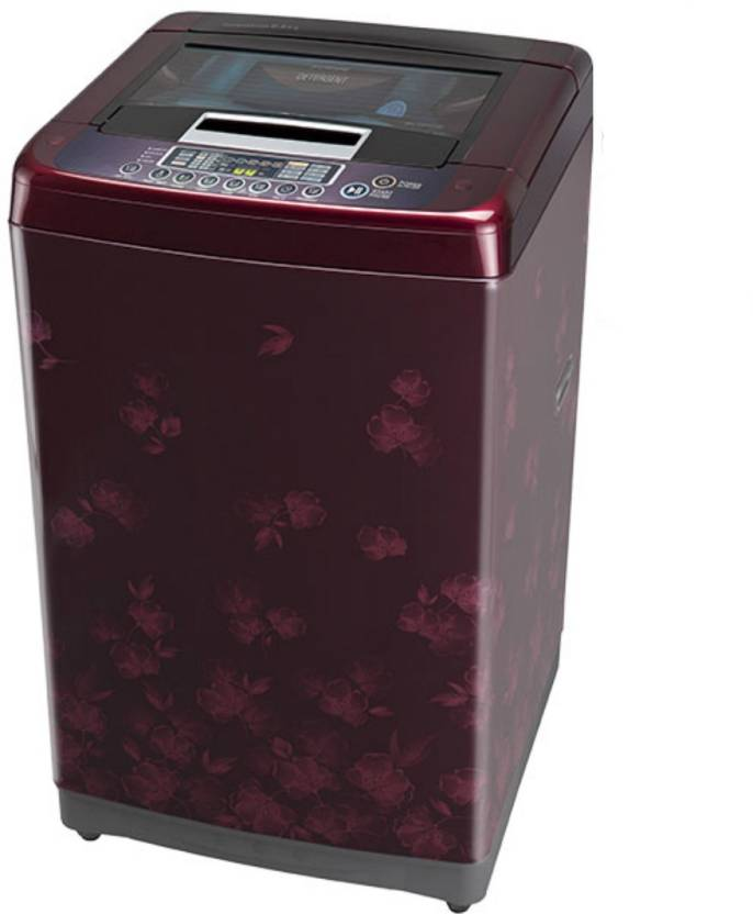 LG 6.5 kg Fully Automatic Top Load Washing Machine Maroon(T7567TEDLX)