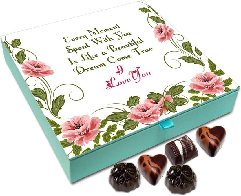 Chocholik Gift Box Every Moment With You Is Beautiful Chocolate