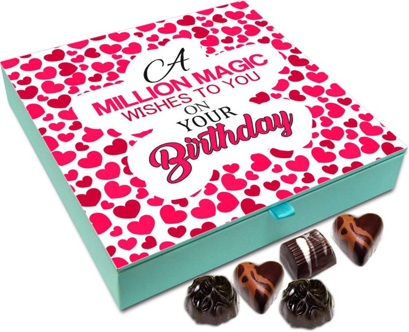 Chocholik Gift Box - Million Magic Wishes On Your Birthday