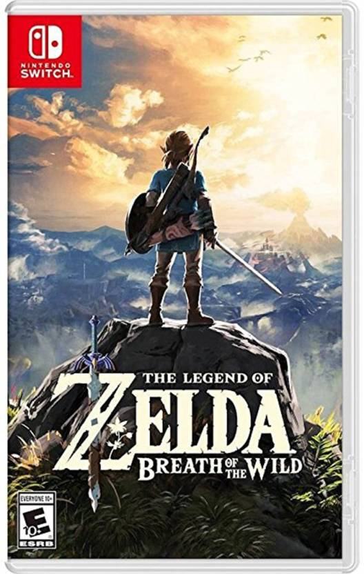 The Legend of Zelda: Breath of the Wild Price in India - Buy The
