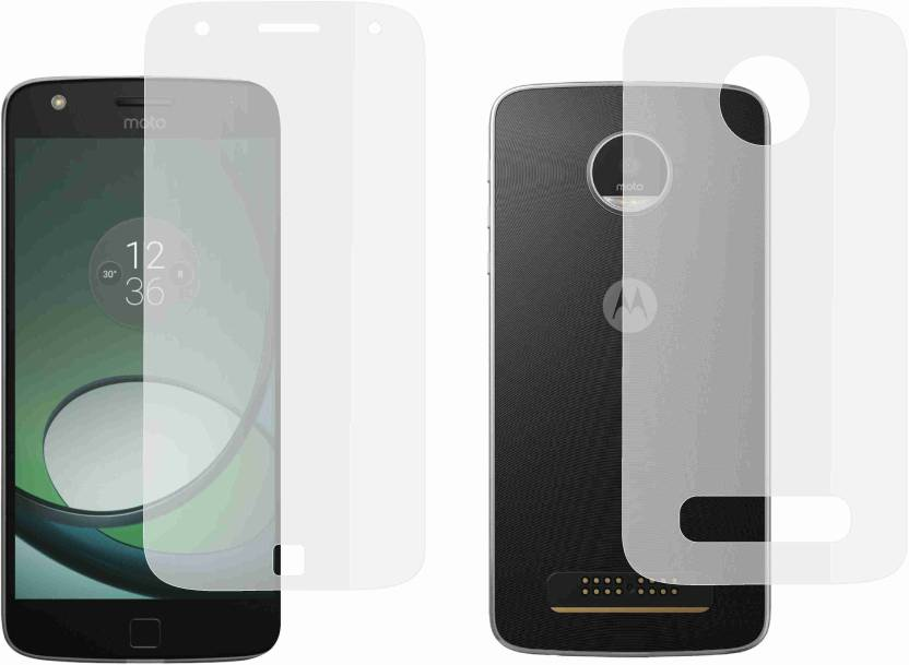 the latest cb5db 6b6f5 Case Creation Front and Back Screen Guard for Motorola Moto Z Play
