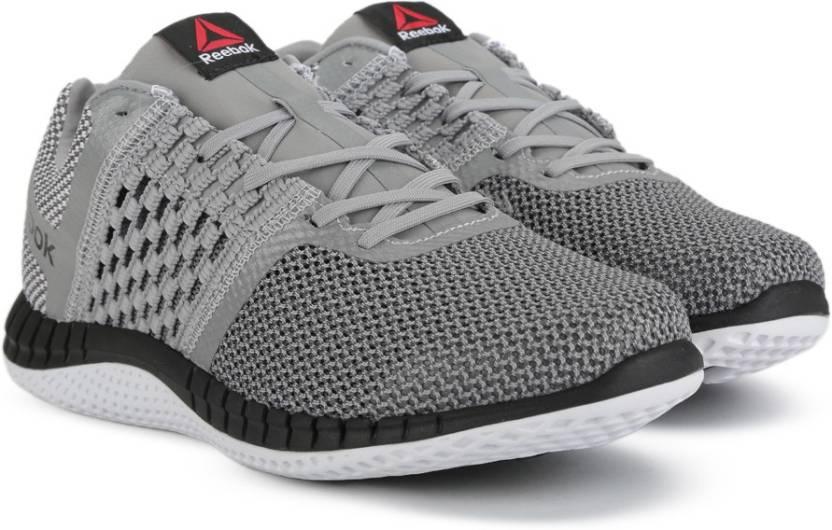 21f24946d32319 REEBOK ZPRINT RUN Running Shoes For Men - Buy GREY SHARK SILVER WHT ...