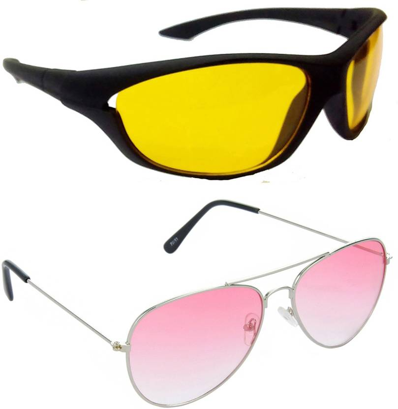 de114b186c Buy Hrinkar Sports Sunglasses Yellow For Boys Online   Best Prices ...