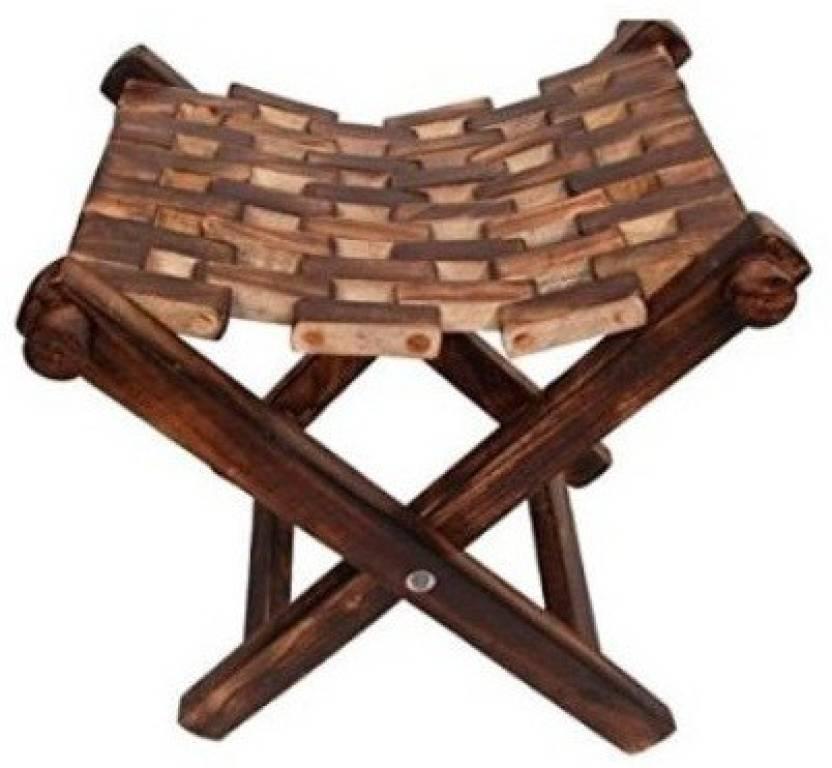 Desi Karigar Wooden Foldable Chair / Table / Living ...