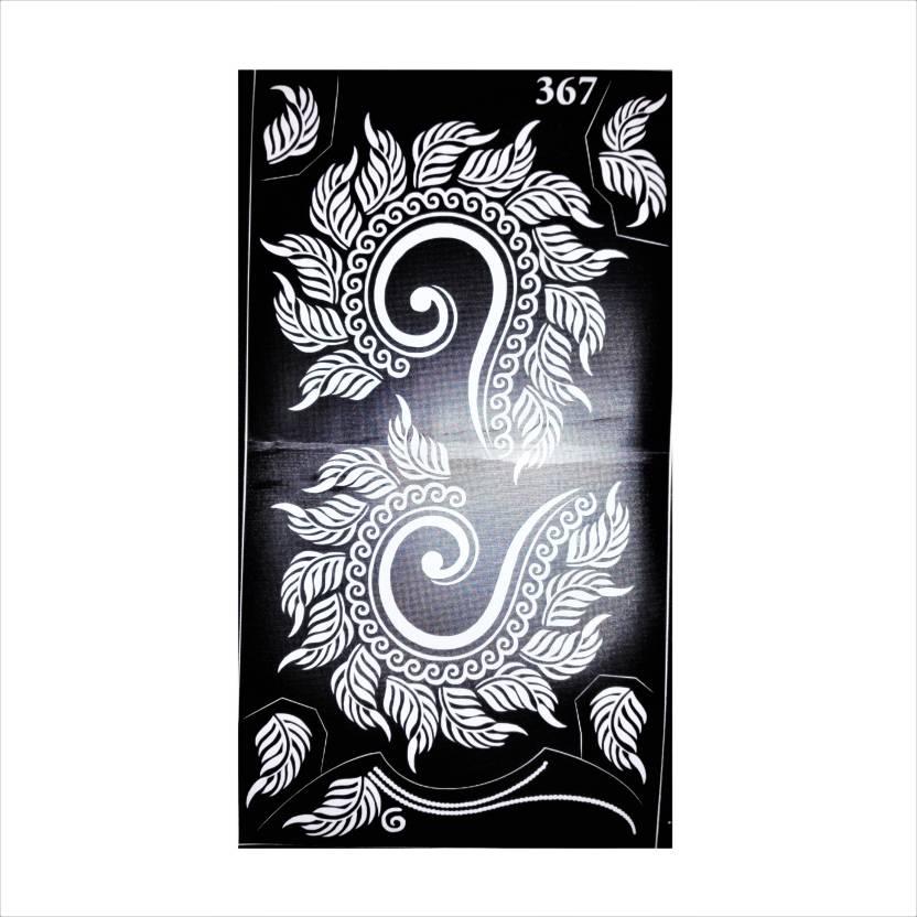 Arr Henna Stencils Arr Henna Stencil Sticker Price In India Buy