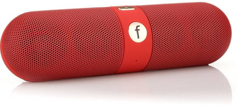 ESTAR Alcatel One Touch Scribe X Portable Bluetooth Mobile/Tablet Speaker  (Red, 2.1 Channel)