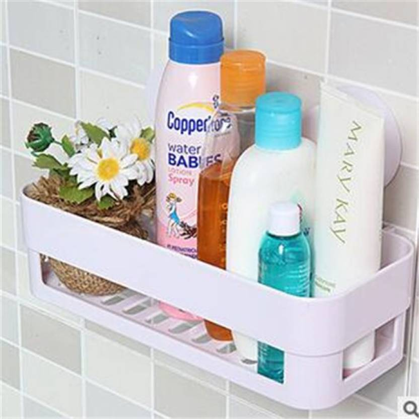 Alpyog Bathroom Sleves Plastic Wall Shelf