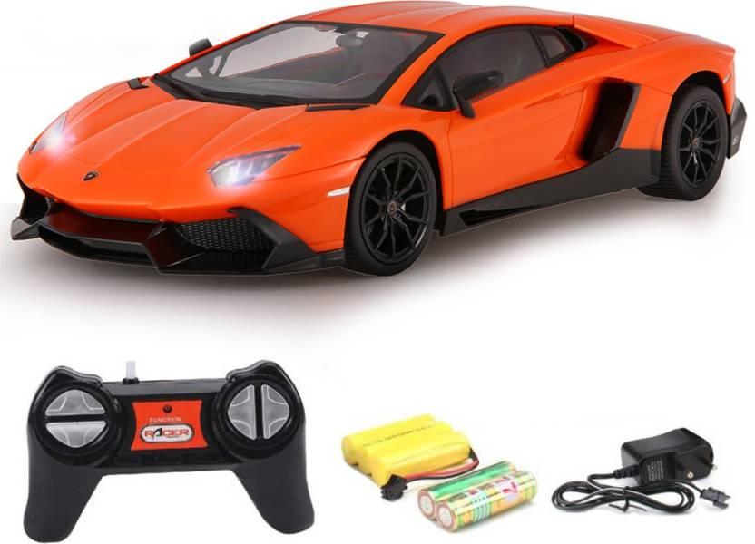 e91a7f7d814 Tabby Toys Lamborghini Aventador LP720-4 Sport Racing Car (Orange)