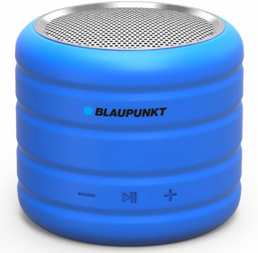 Blaupunkt BT-01 BL Portable Bluetooth Mobile/Tablet Speaker  (Blue, Stereo Channel)- 40% OFF