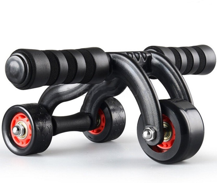 Power Trainer Roll Ab New Home B Fitness Wheel Double Training Workout Perfect