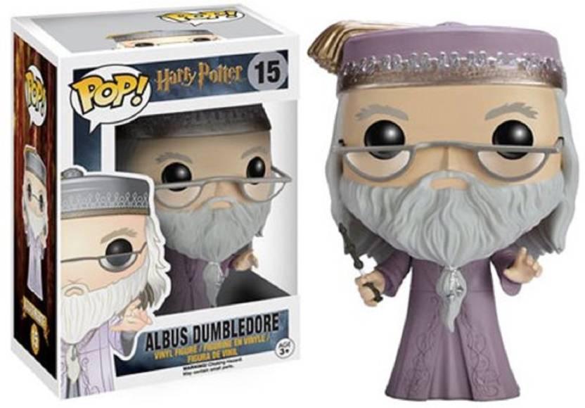 Funko Harry Potter Dumbledore with Wand POP Vinyl Figure - 4 Inch [Wizplex]