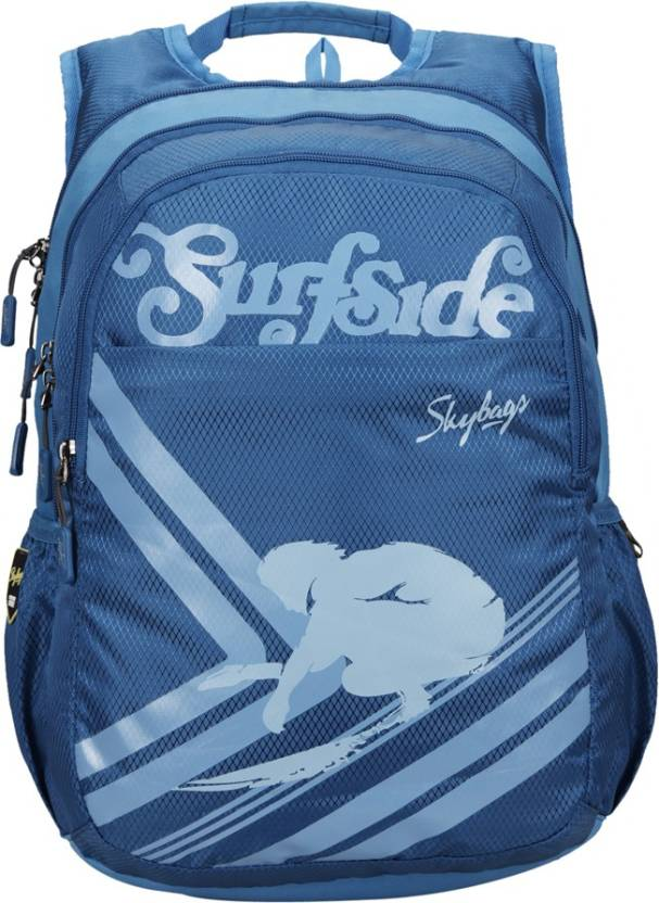 4984723a26 Skybags Footloose Blitz 05 30 L Laptop Backpack Blue - Price in ...