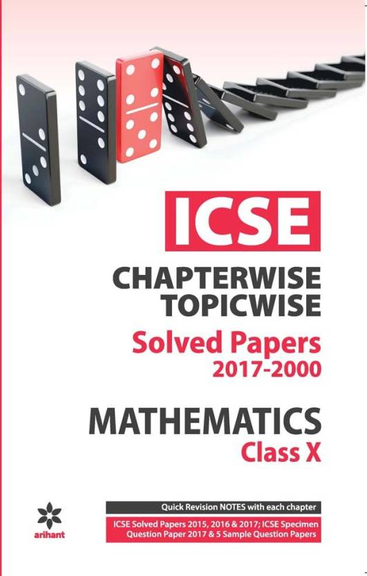Icse Mathematics Chapterwise Topicwise Solved Papers Class 10th Buy