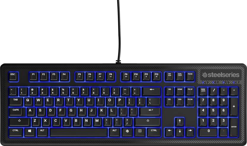 66fde1032f1 SteelSeries Apex 100 Wired USB Gaming Keyboard - SteelSeries ...