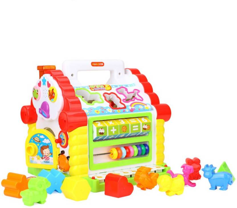 GoAppuGo Amazing Learning House with piano Baby birthday gift for 1 2 3 year old boy