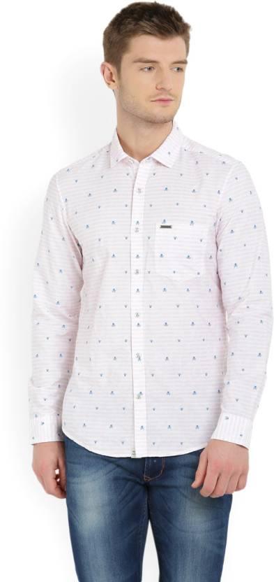 f30796d7ba Indigo Nation Street Men s Casual Shirt - Buy WHITE Indigo Nation ...
