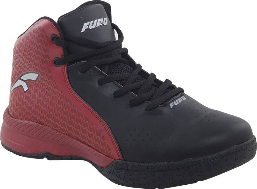 FURO by Red Chief Basketball Shoes For Men - Buy Black Color FURO ...