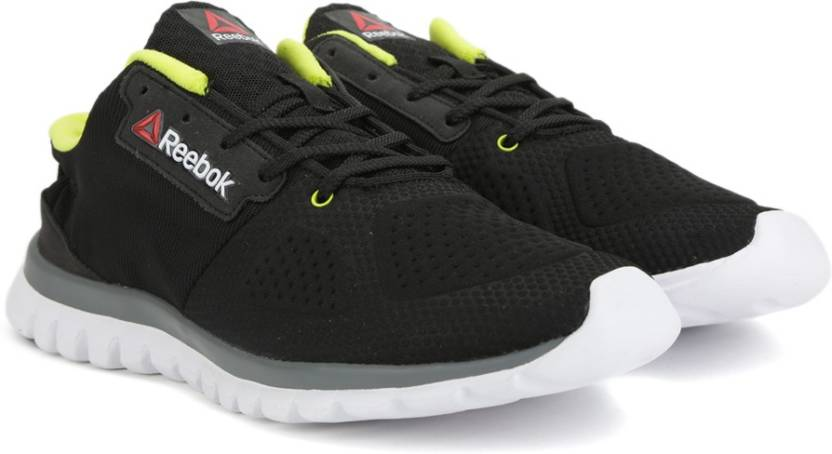 3c8a93f1e1a3 REEBOK SUBLITE AIM 2.0 Running Shoes For Men - Buy BLK SOLAR GREEN ...
