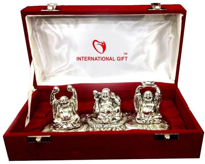 International Gift Silver Finish Pagadi Ganesha Oxidized Exclusive Gifts For Diwali