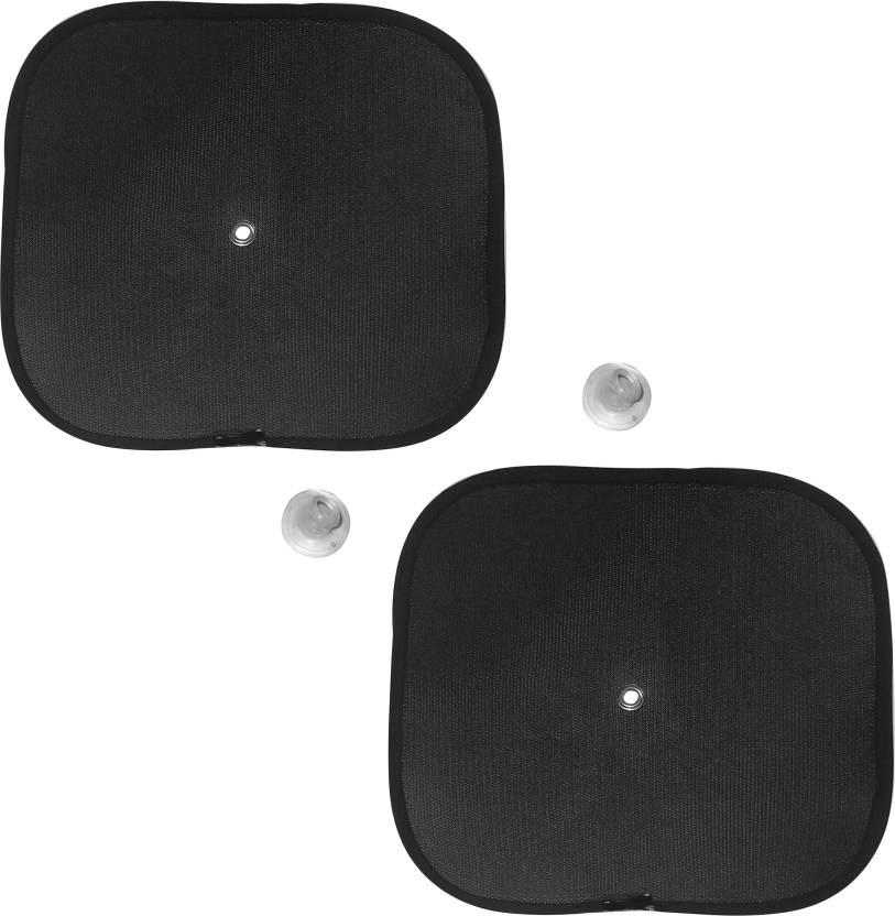 AutoKraftZ Side Window Sun Shade For Universal For Car Universal For Car  (Black)