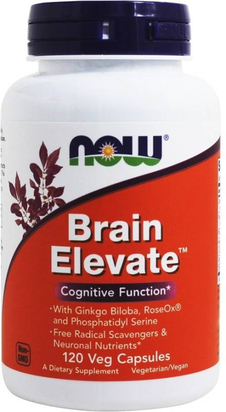 Now Foods Brain Elevate 120 Nos Price In India Buy Now Foods