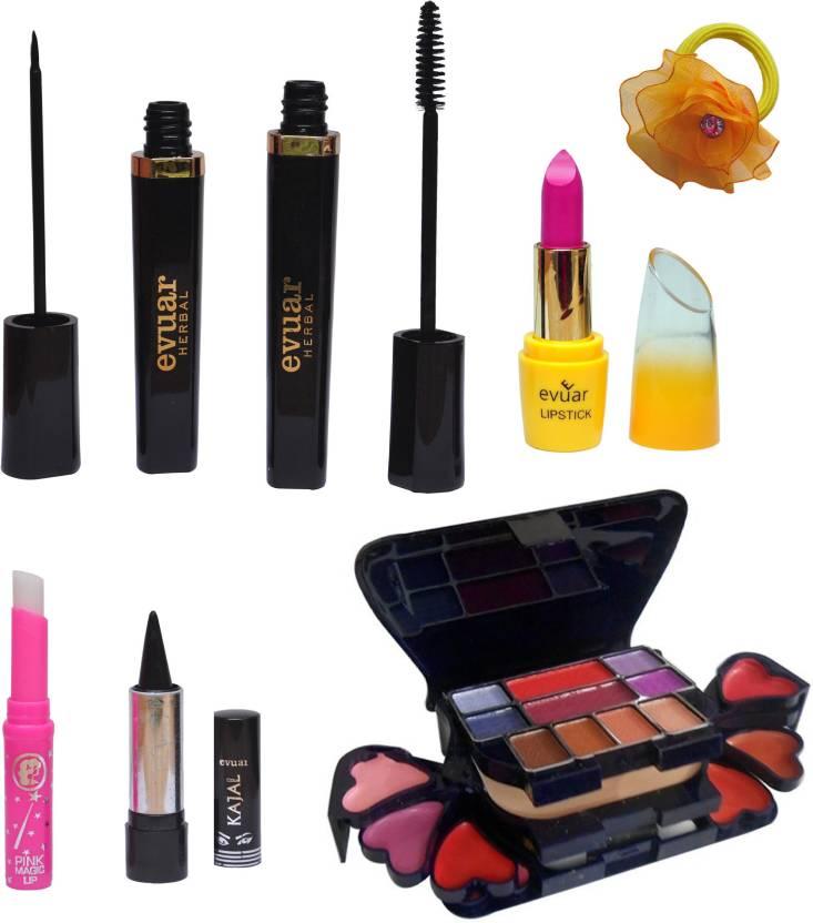 Evuar Complete Mini Makeup Combo 7 In 1 Price In India Buy Evuar