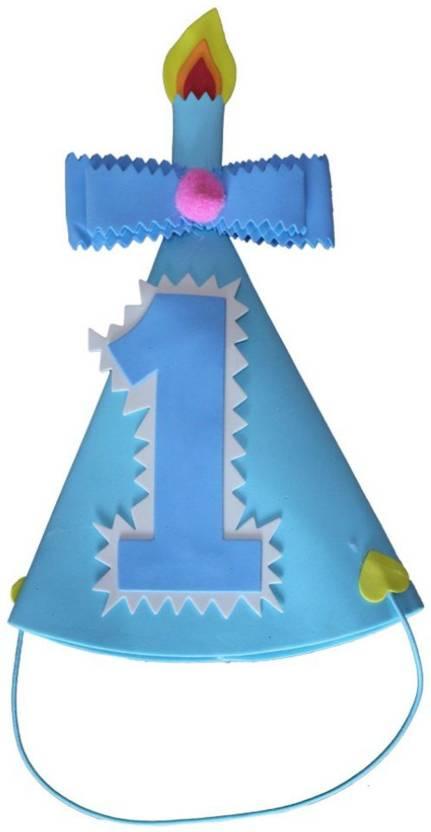 Shop Online 1st Birthday Hat Blue Pack Of 1