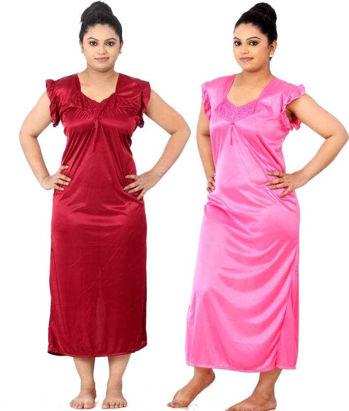 Fabme Women Nighty - Buy Fabme Women Nighty Online at Best Prices in ... 89371d3ec