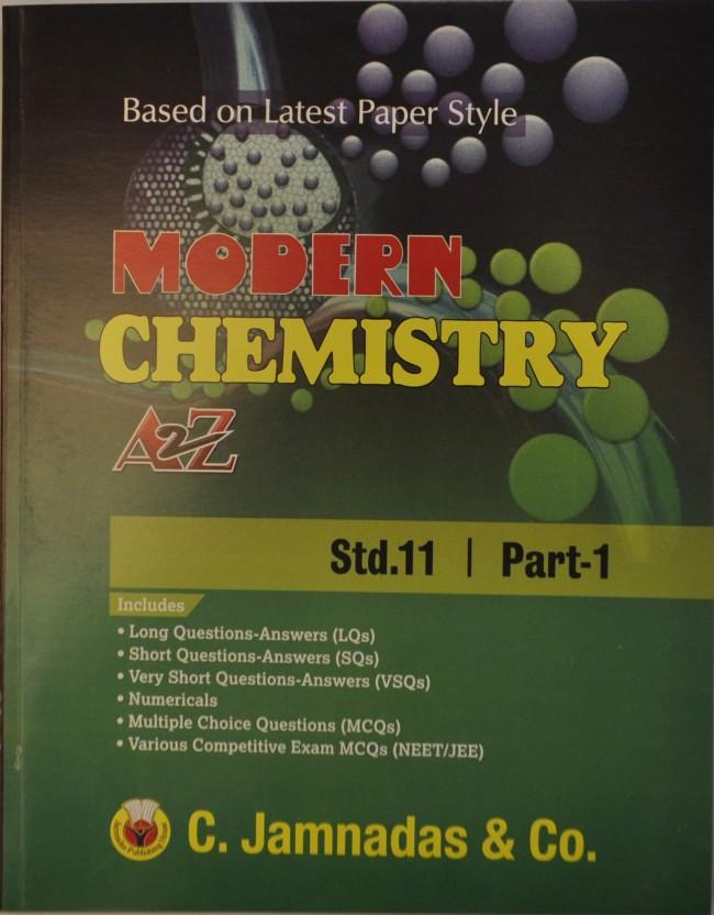 11th Standard Chemistry Book