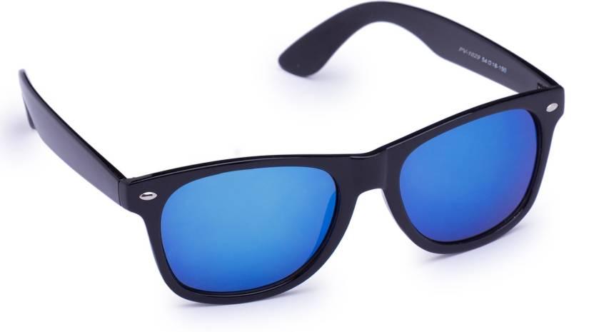f05feb72895 Buy Provogue Wayfarer Sunglasses Blue For Men Online   Best Prices ...