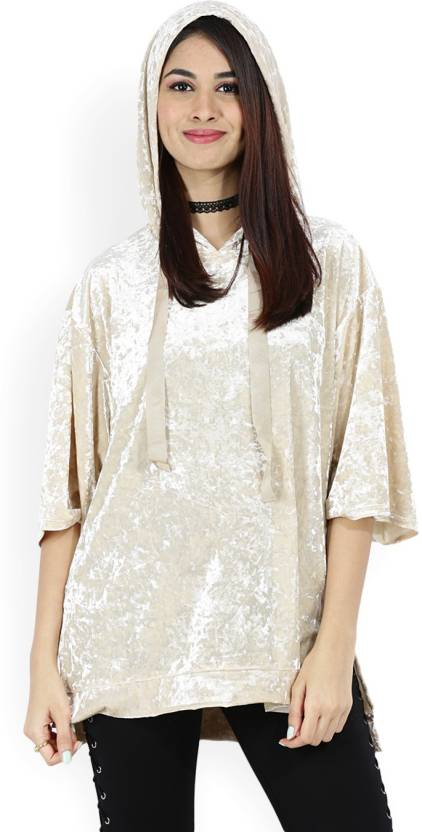 a3ea655071344 Forever 21 Casual Bell Sleeve Embellished Women s Beige Top - Buy CHAMPAGNE  Forever 21 Casual Bell Sleeve Embellished Women s Beige Top Online at Best  ...