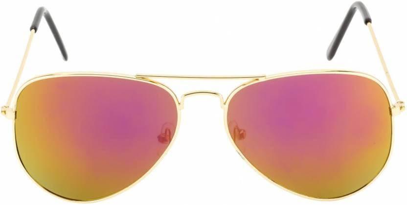 5dacb35005a5 Buy Gubbarey Aviator Sunglasses Orange