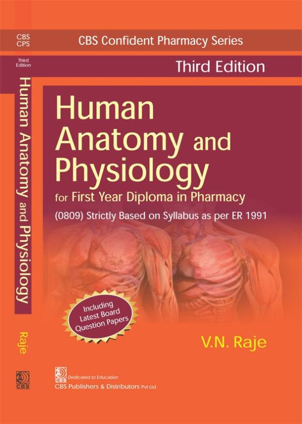 CBS CONFIDENT PHARMACY SERIES HUMAN ANATOMY AND PHYSIOLOGY, 3/E FOR ...