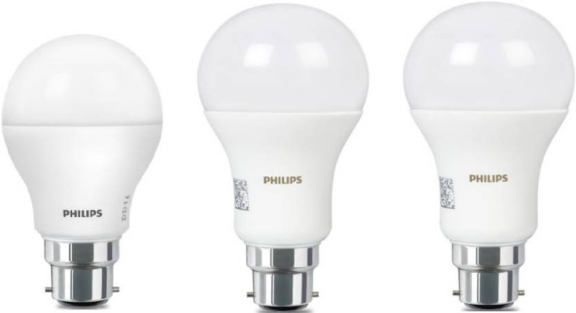 Philips 16 W, 9 W Standard B22 LED Bulb Price in India ...