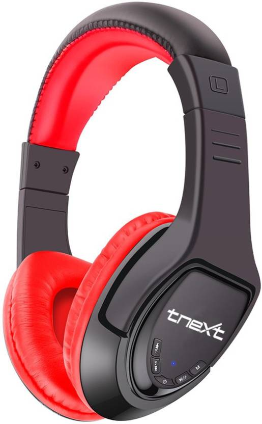 tnext MX333 Wireless Bluetooth Gaming Headset With Mic Red