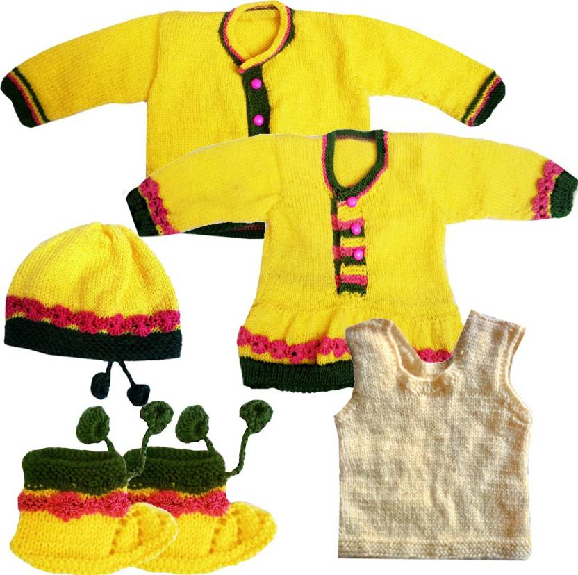 e8d2677a7cda DADIMA KI BUNAI Baby Boys   Baby Girls Party(Festive) Sweater ...