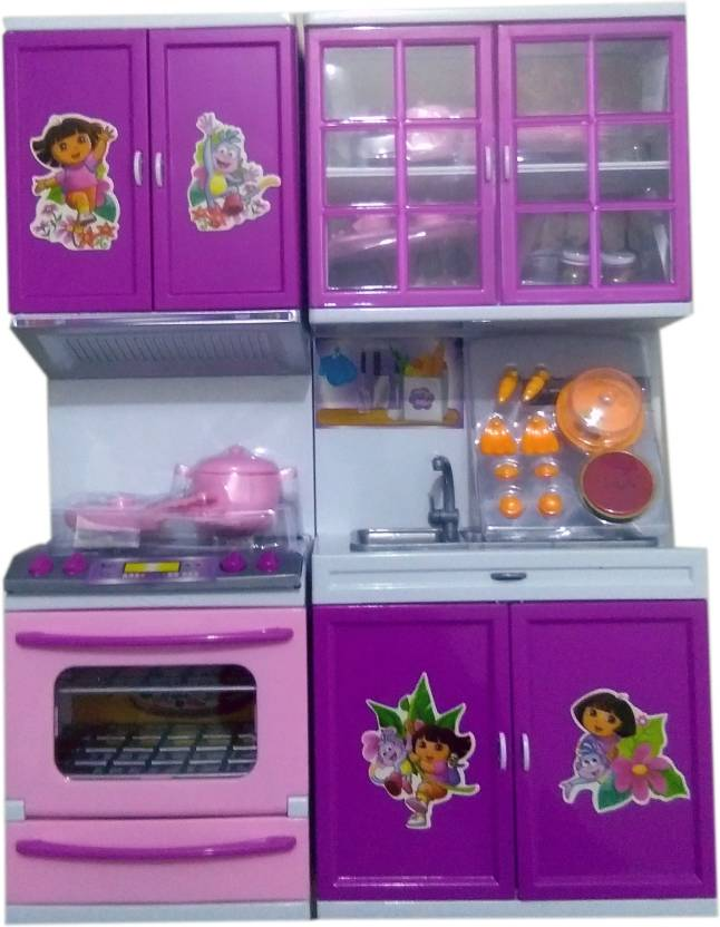 Presentsale Dora The Explorer Light Sound Kitchen Set For Girls