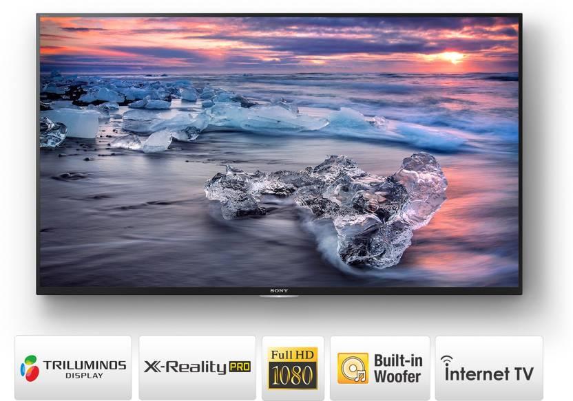 Sony 108cm (43 inch) Full HD LED Smart TV(KLV-43W772E)