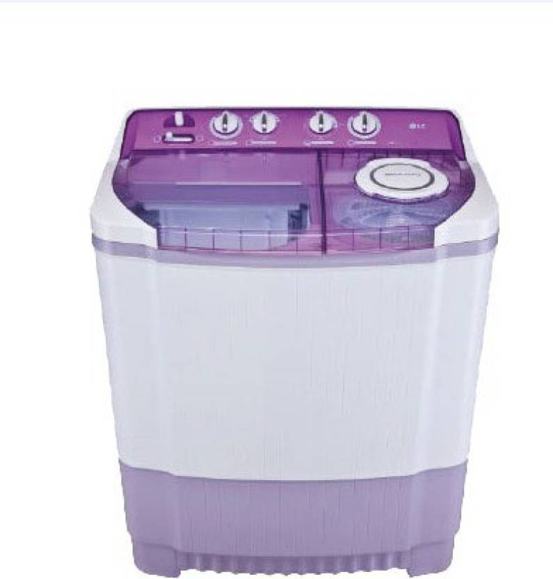 LG 7.5 kg Semi Automatic Top Load Washing Machine Purple  (P8537R3SA)