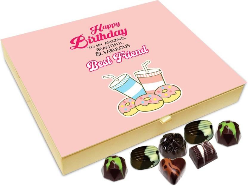 Chocholik Gift Box Happy Birthday My Best Friend Chocolate Box