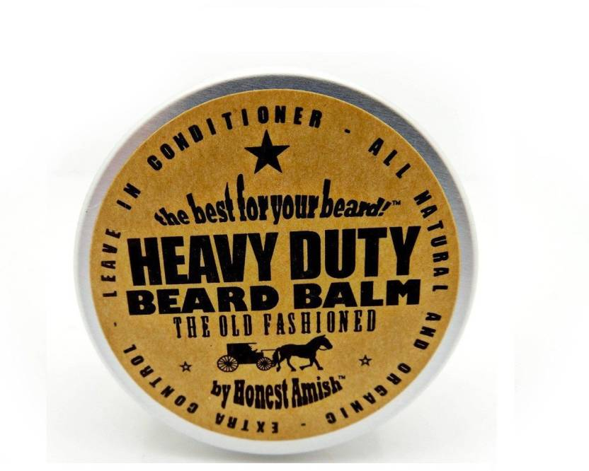 Honest Amish Heavy Duty Beard Balm - 2 Ounce - Beard